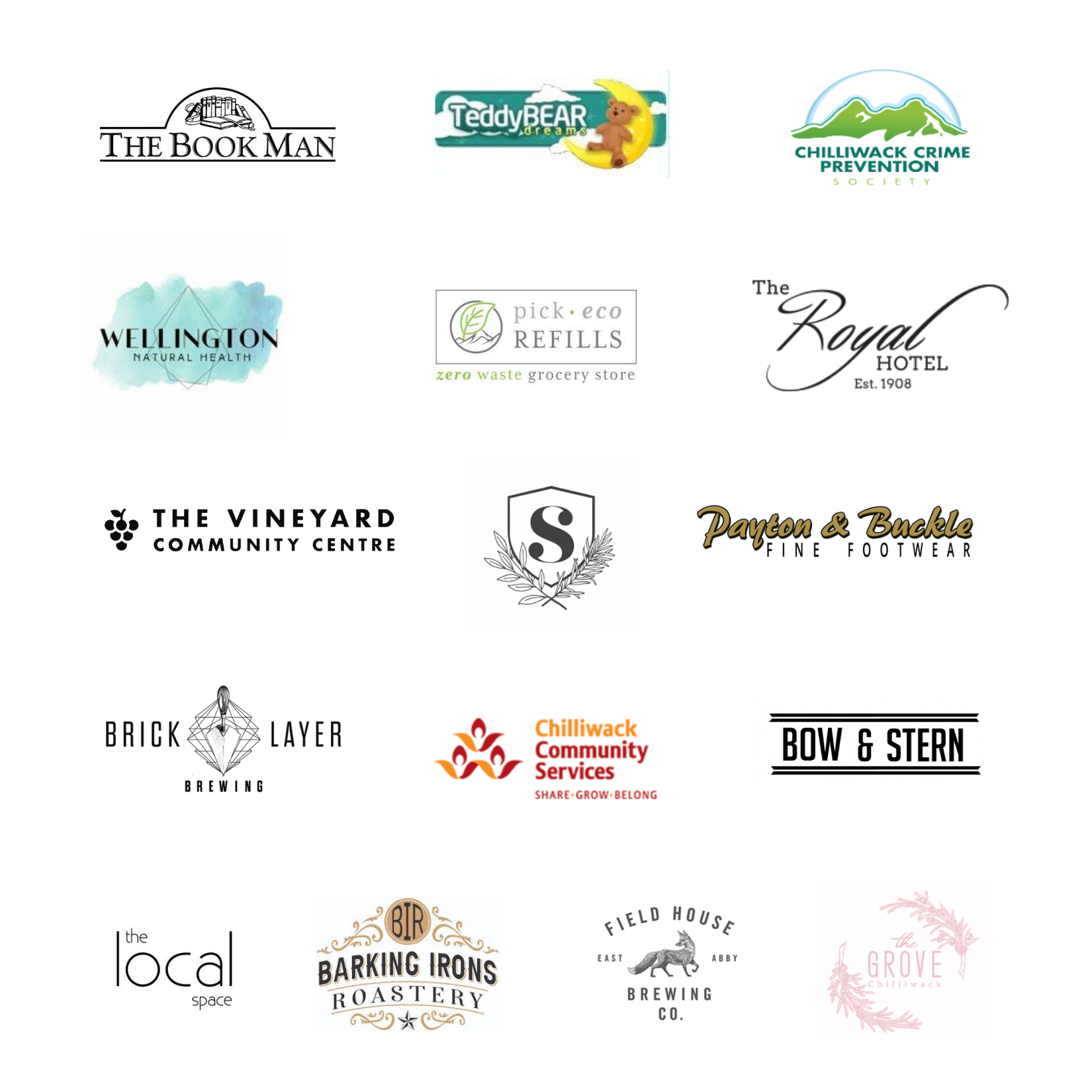 StoryWalk Participating Businesses